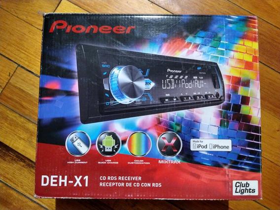 Radio Pioneer Deh-x1 Usb, Mixtrax, Pantalla Color, Control