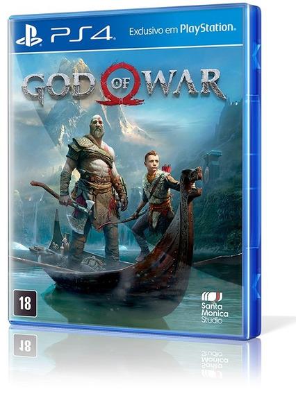 God Of War 4 (2018) Ps4 Novo Lacrado Ab Games