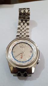 Relógio Seiko 6117 6010 Gmt World Time Automático 17 J