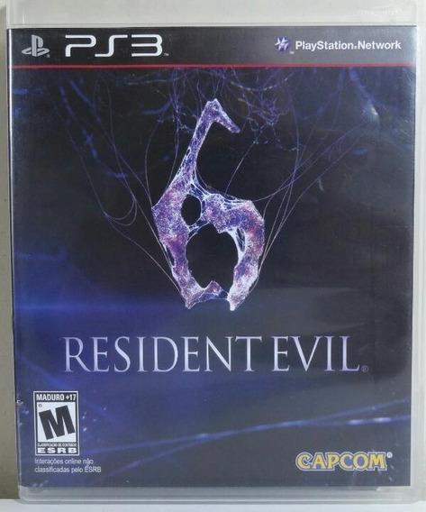 Jogo De Ps3 Resident Evil 6 Em Mídia Física. Legendado Pt