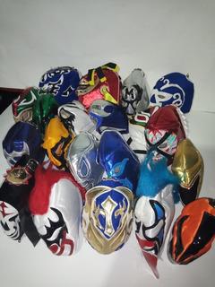Llaveros De Mascara De Lucha Libre Varios Modelos D Luchador