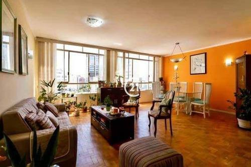 Apartamento À Venda, 127 M² Por R$ 990.000,00 - Higienópolis - São Paulo/sp - Ap2516