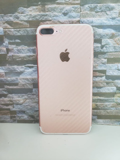 iPhone Celular 7 Plus 128gb Rose 4 Meses De Uso Desbloqueado