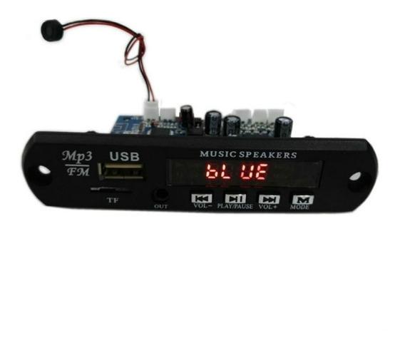 Decodificador Amplificado Stereo 2x20w E Com Saída De Linha