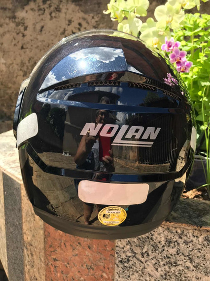 Capacete Nolan N90-2 Black Tamanho Xl Semi Novo
