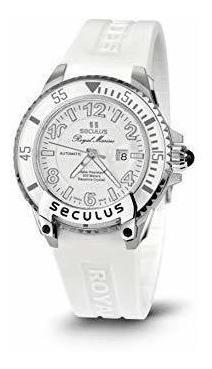 Reloj Seculus 3443.7.2671 Silw Ssw Para Dama Ext De Acero
