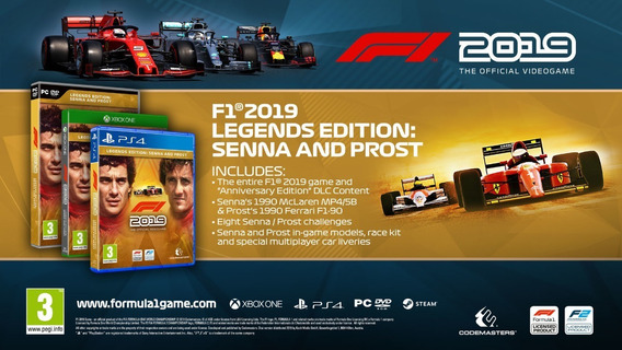 F1® 2019 Legends Edition Senna & Prost