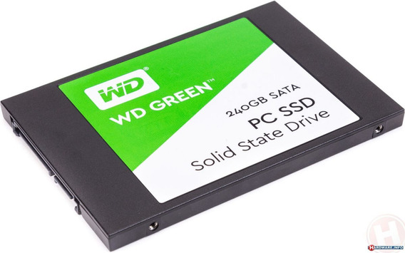 Ssd Wd Green 240gb 2.5 Sata Iii 6gb/s