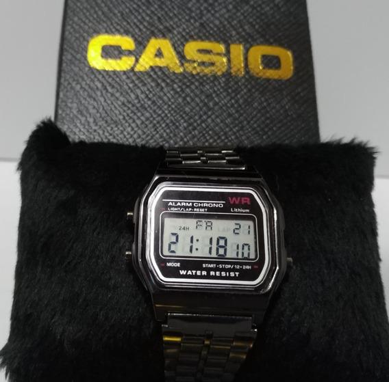Relógio Casio Vintage Retro Digital Unissex Luz Led 4 Cores