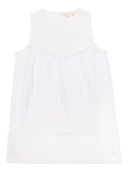 Vestido Jady Blanco Niña 4kids