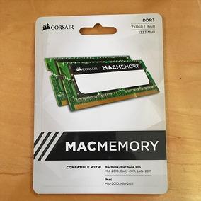 Memoria Ram Corsair Apple Certificada 16gb (2x8) Ddr3 1333
