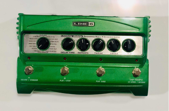 Pedal - Pedaleira - Dl4 Line6 - Delay
