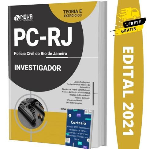 Imagem 1 de 6 de Apostila Investigador Concurso Pc Rj - Polícia Civil Rj