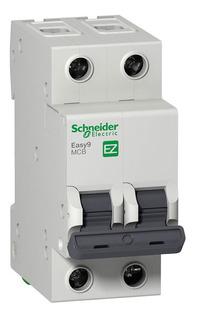 Llave Termica Bipolar 2x20a Schneider Electric Easy9 4.5ka