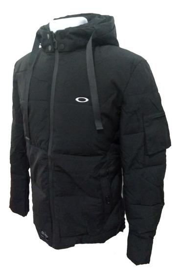 Jaqueta Oakley Blusa Preta Ziper E Touca Corta Vento Top