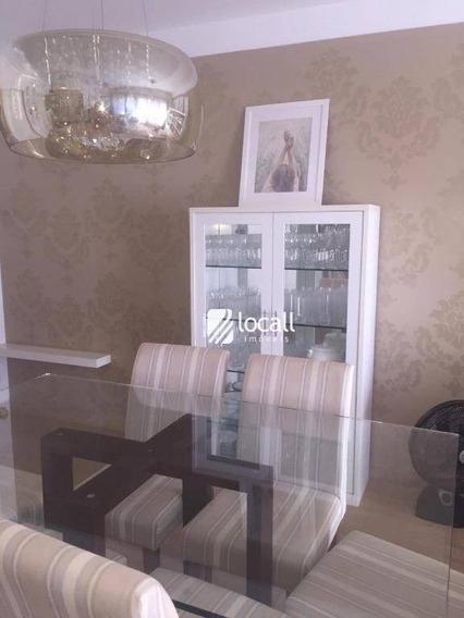 Apartamento Com 3 Dormitórios À Venda, 130 M² Por R$ 680.000 - Jardim Vivendas - São José Do Rio Preto/sp - Ap1853