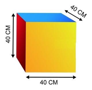 Cubo Didactico De 40x40x40