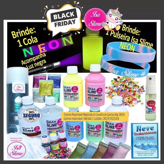 Kit Slime Colas Transparentes Da Isa Slime Promoção Nova