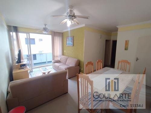 Imagem 1 de 30 de Apartamento Com 2 Dormitórios Sendo 1 Suíte À Menos De 400 Metros Do Mar Na Praia Da Enseada. - 3540