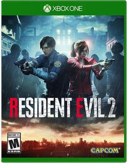 Resident Evil 2 Xbox One Nuevo Sellado Fisico En Beyond_trc