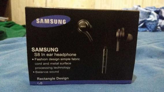 Fone De Ouvido Samsung Akg S8 S9 S10