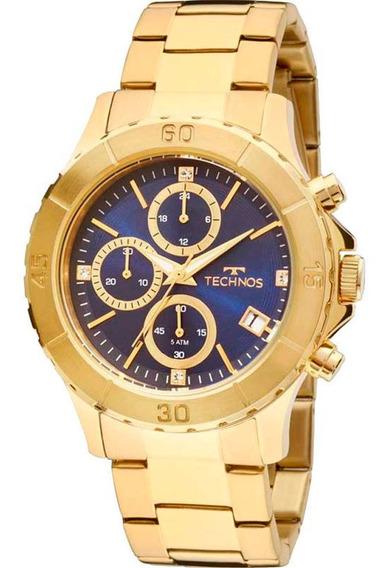 Relógio Technos Dourado Feminino Elegance Dress Js15bm/4a