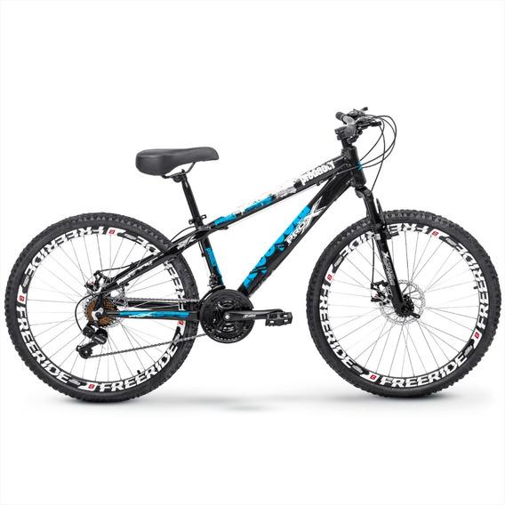 Bicicleta Pro X Predador Freeride Aro 26 Freio Disco 21v