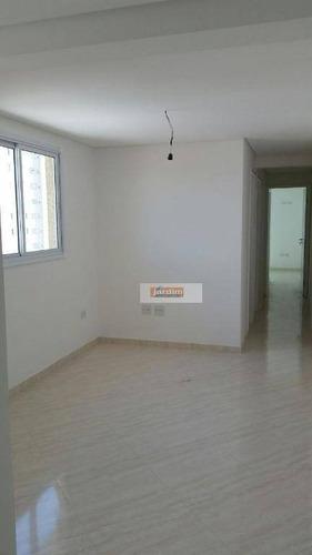 Apartamento Com 2 Dormitórios À Venda, 53 M² Por R$ 300.000,00 - Vila Guiomar - Santo André/sp - Ap5420