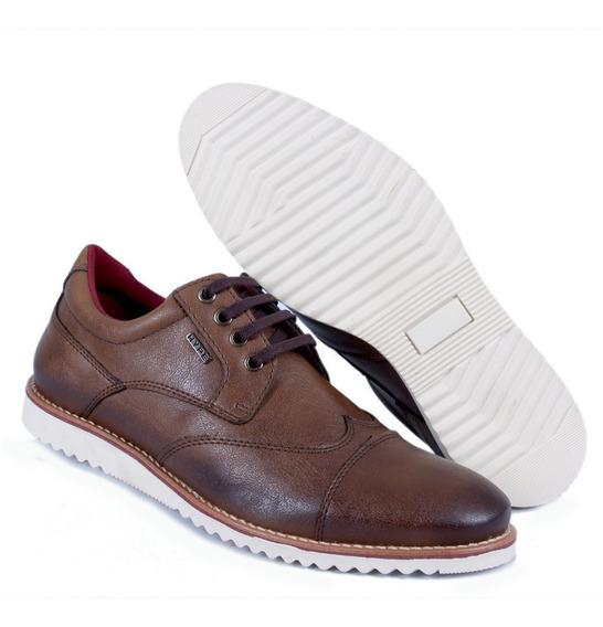 Oxford Masculino Couro Hype Oficial Sapato Sapatênis Confort