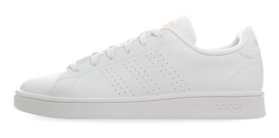 Tenis adidas Advantage Clean W - Db0581 - Blanco - Mujer
