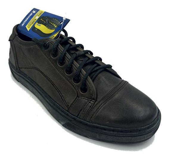 Zapato Michelin Sport Janvier Cafe/negro Hombre