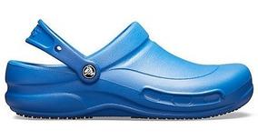Zapato Trabajodoctores, Chefs, Dentistas, Crocs Bistro Azul