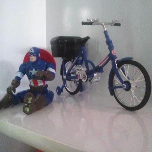 Capitão America Na Bicicleta Brinquedo Promoção