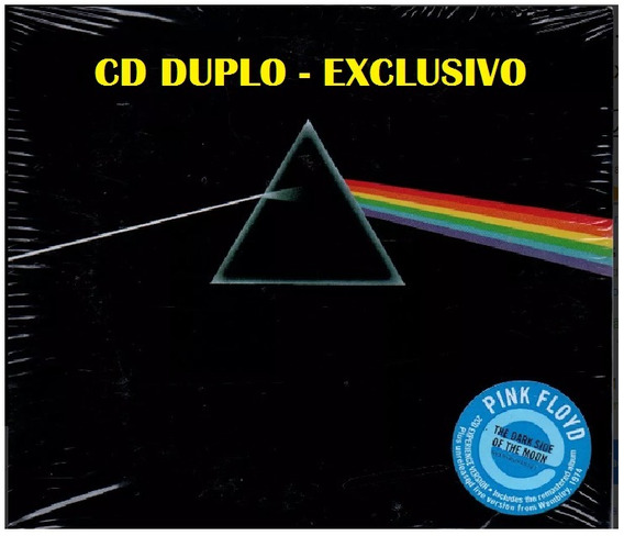 Kit 5 Cds - Pink Floyd - The Dark Side Of The Moon -cd Duplo