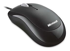 Mouse Óptico Usb Microsoft Basic 800 Dpi P58-00061 Preto