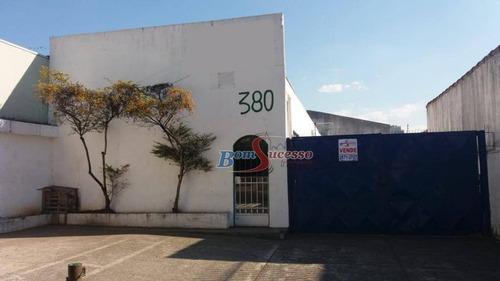 Imagem 1 de 7 de Galpão, 680 M² - Venda Por R$ 3.000.000,00 Ou Aluguel Por R$ 15.000,00/mês - Vila Prudente - São Paulo/sp - Ga0249