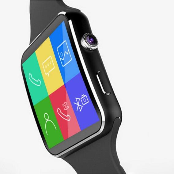 Reloj Inteligente X6 Smartwatch Iwatch Celular Sim Sd Cámara