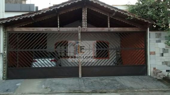 Casa Para Alugar No Bairro Vila Caiçara Em Praia Grande - - 666-3