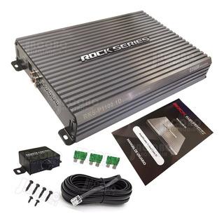 Amplificador Clase D Rock Series De Un Canal Rks-p1100.1d