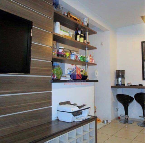 Apartamento Com 2 Dormitórios À Venda, 66 M² Por R$ 243.000 - Residencial Spazio Amaretto - Vila Omar - Americana/sp - Ap0685