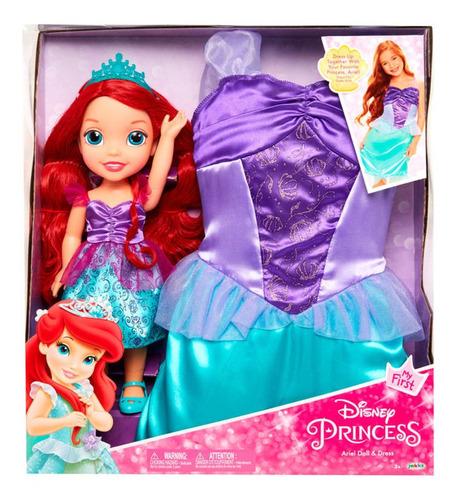 Ariel Disney - Princesa Muñeca Con Disfraz