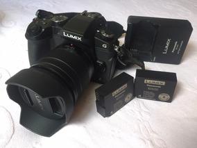 Câmera Panasonic Lumix G85 + 2 Baterias Originais + Lente