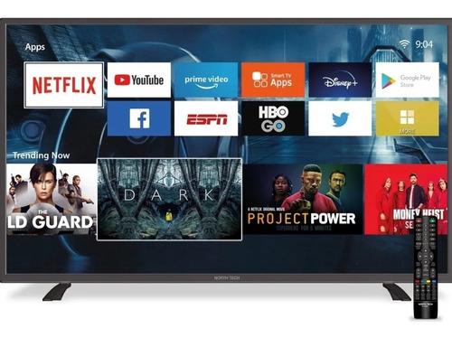 Televisor North Tech 32 Slim Smart Tv Led Hd Con Android 9.0