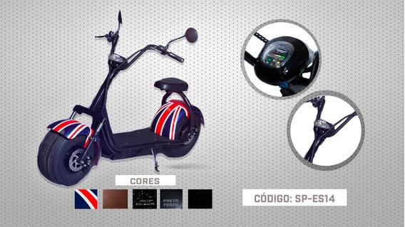 Scooter Elétrica Sp-es14 Assento Simples