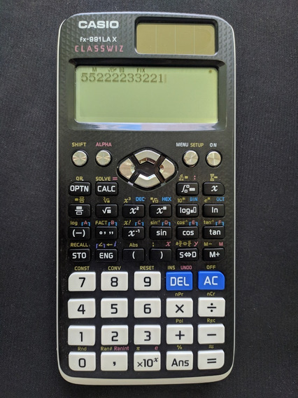 Calculadora Científica Casio Fx-991lax Classwiz C/ Garantia