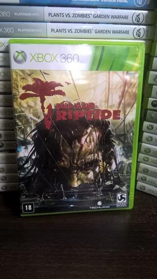 Dead Island Riptide - Xbox 360 - Original - Frete 12