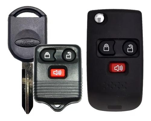 Carcasa Control Remoto Modificacion Ford 3 Botones