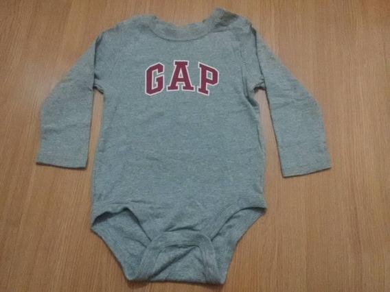 Body Infantil Baby Gap Manga Longa Tam2