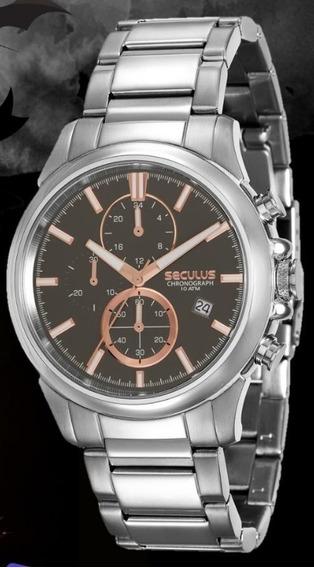 Relógio Masculino Seculus Cronógrafo13023g0svna3