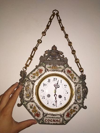 Reloj Francés De Pared Samuel Martí Del Año 1900 Medalle Do